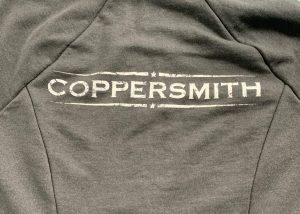 screenprinting coppersmith hoodie