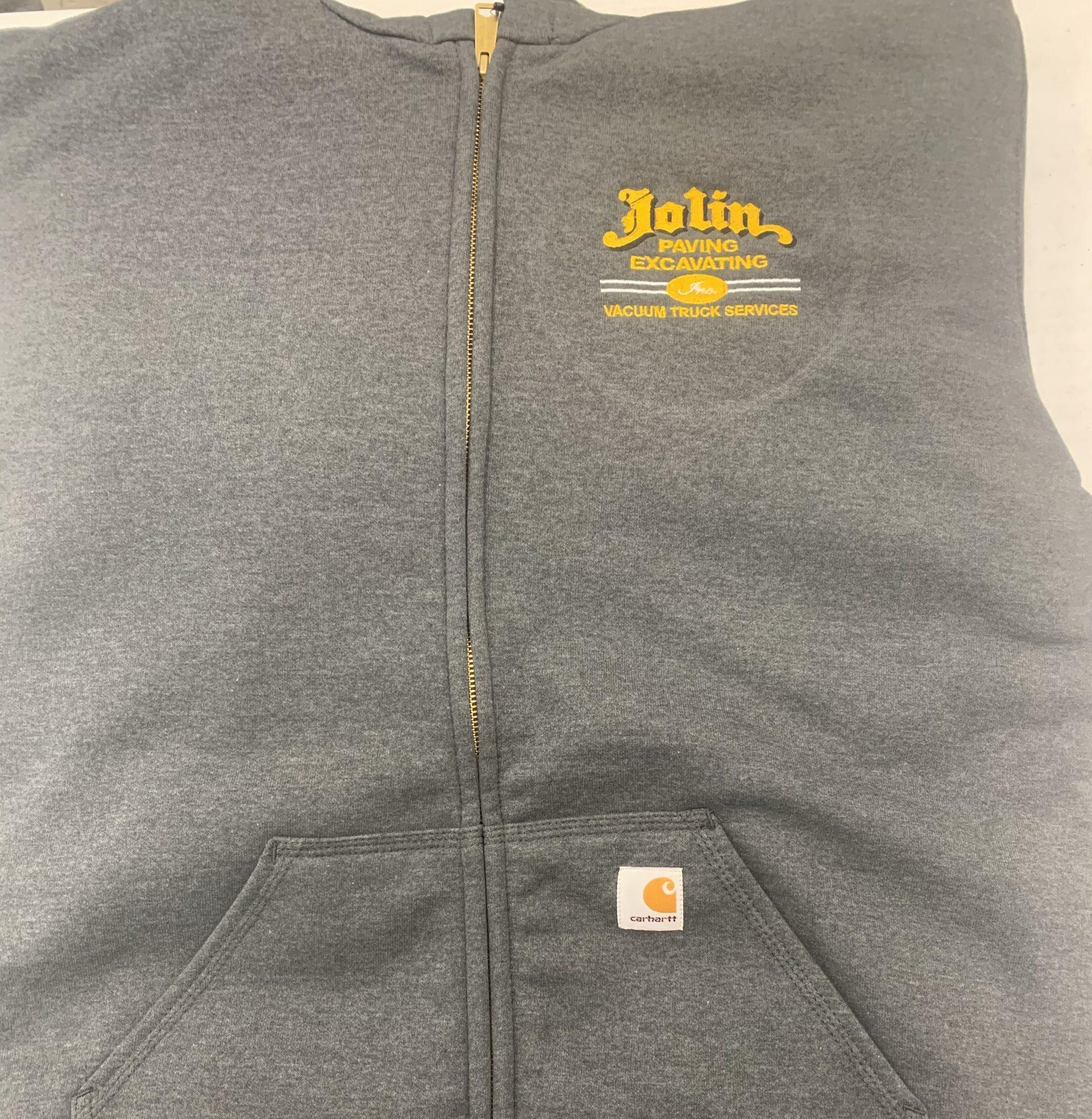 jolin hooded sweatshirt screen printed